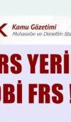 TFRS YERİNE BOBİ FRS !!!